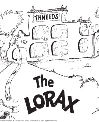 Free Printable The Lorax Activity Pages