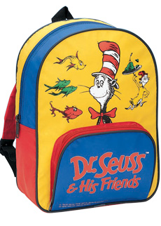 Dr Seuss His Friends Backpack Book Club By Early Moments