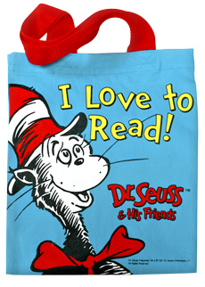 The Cat In Hat Tote Bag Dr Seuss