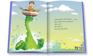 Have you seen my dinosaur?, by Jon Surgal ; illustrated by Joe Mathieu