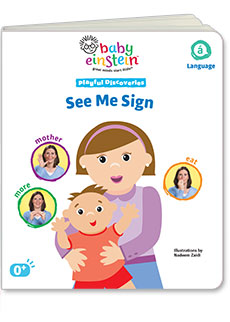 See Me Sign | Baby Einstein Book Club by Early Moments