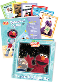 Explore the Night Sky | Elmo Book Club by Early Moments