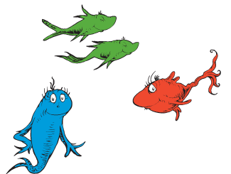 One Fish Two Fish Red Fish Blue Fish Coloring Pages One Fish Two Fish Fun Activities  Drseuss Kids Book Club