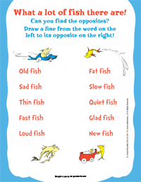 one fish two fish printable images