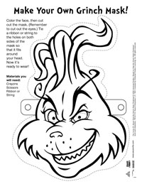 the grinch coloring pages pdf | printables for the grinch
