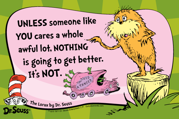 Dr. Seuss Quote #2