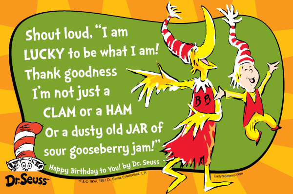 Dr. Seuss Quote #3