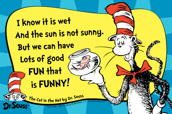 Cat In The Hat Book Phrases