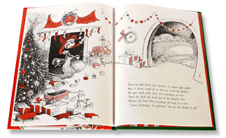 written and illustrated in the classic seussian style we witness the grinchs transformation from villain to hero and are reminded that christmas - How The Grinch Stole Christmas Book